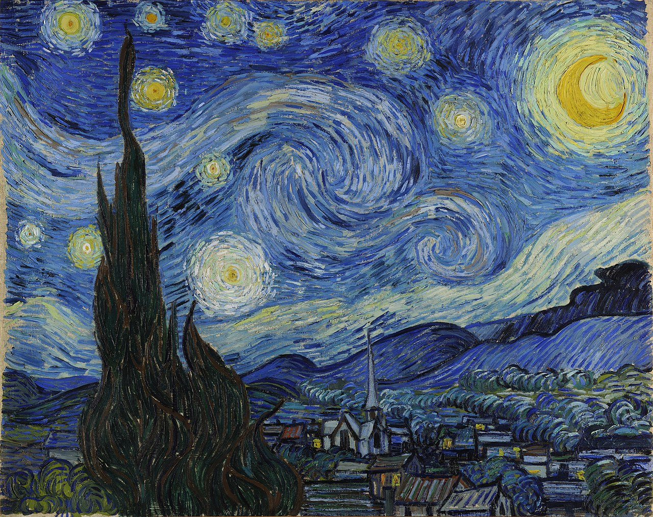 Starry Night by Van Gogh – An Age of Aesthetics   How We Add Value