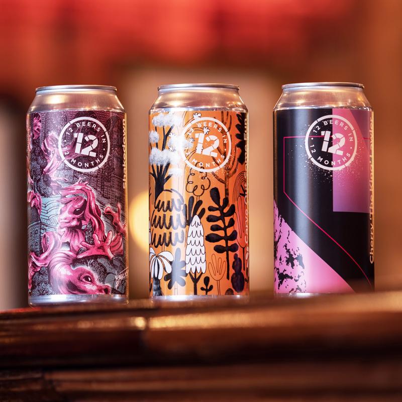 12 Beers Packaging Design