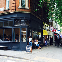 Small Coffee Shop brand in London