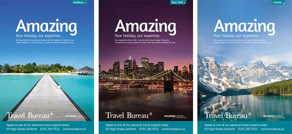 amazing travel bureau ad campaign wonderstuff