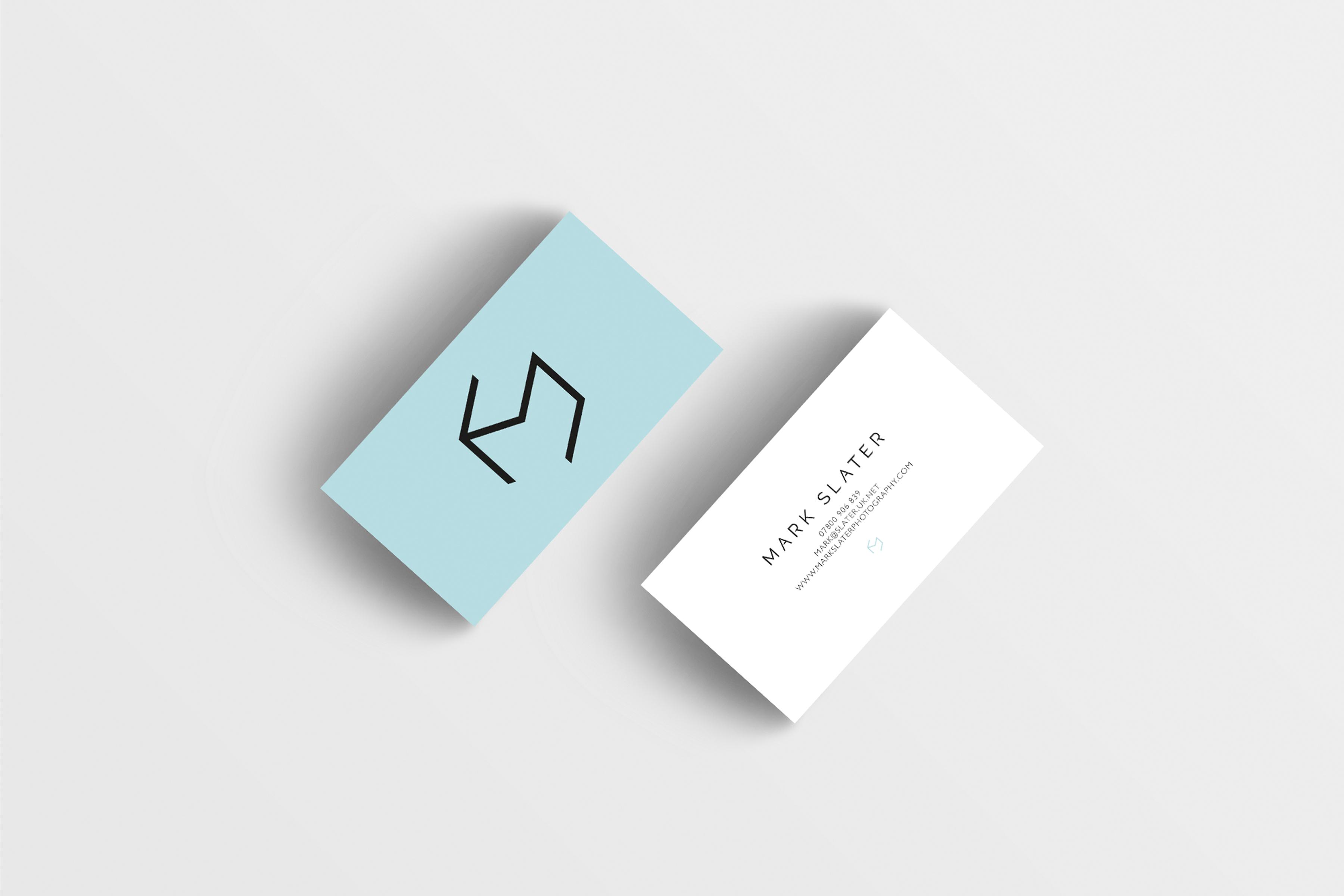 Mark Slater business cards