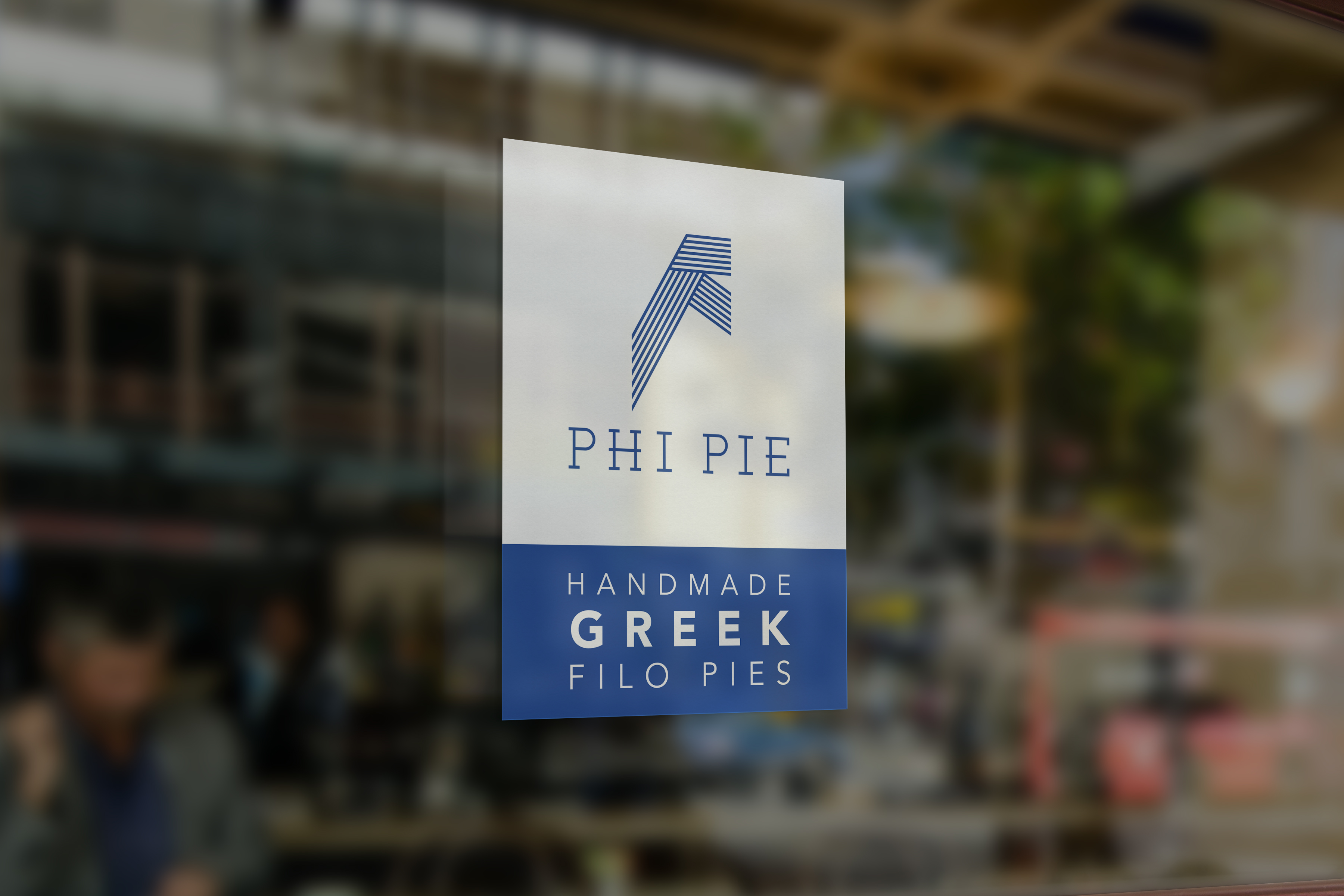 PHI PIE Window Sticker